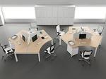 практични работни офис бюра детелина авторски дизайн