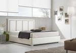 Индивидуално тапицирано легло с механизъм за повдигане на матрака