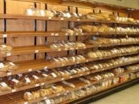 Стелажи от дърво за хляб