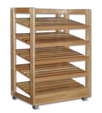 Дървени стелажи за хляб