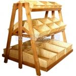 Изработка на дървени стелажи за хлебни изделия