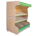 Стелажи за хляб и хлебни изделия от дървен материал